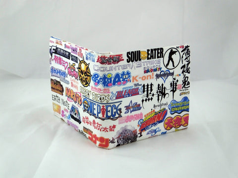 Anime Logos PU Leather Wallet