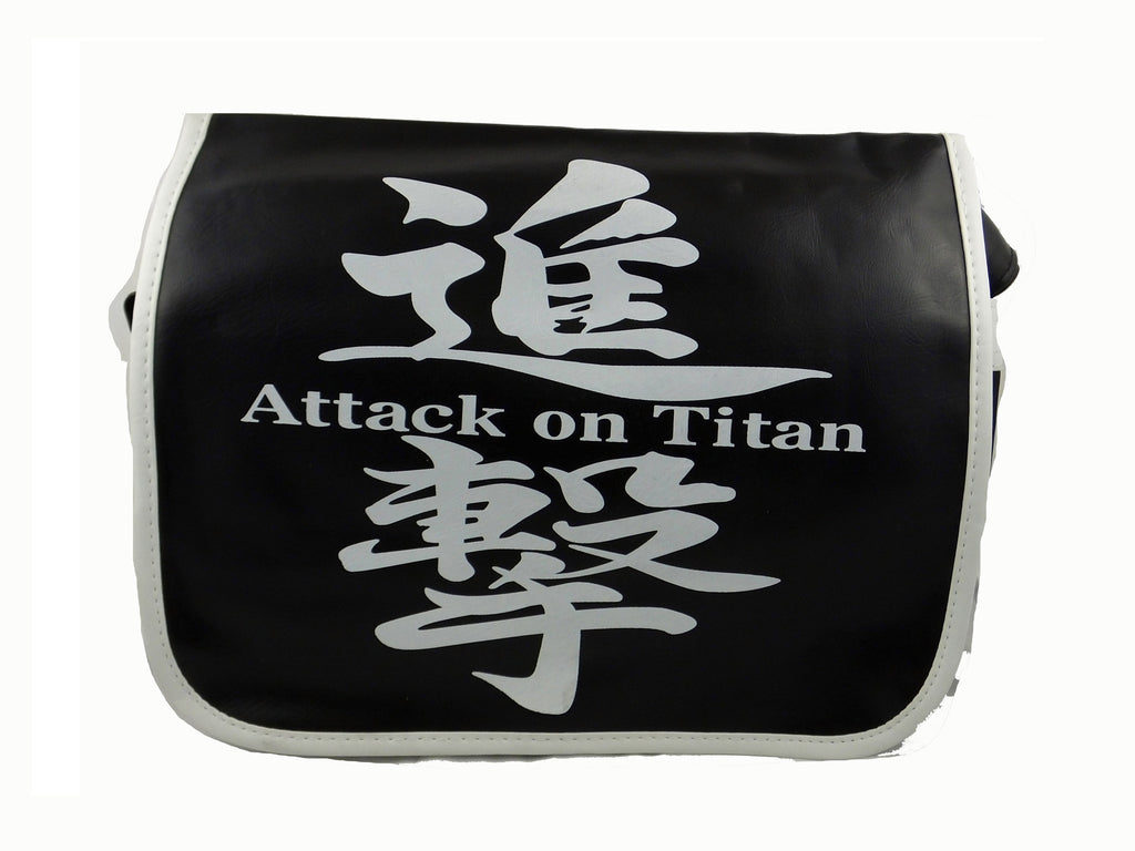 Attack on Titan Anime PU Leather Shoulder Bag