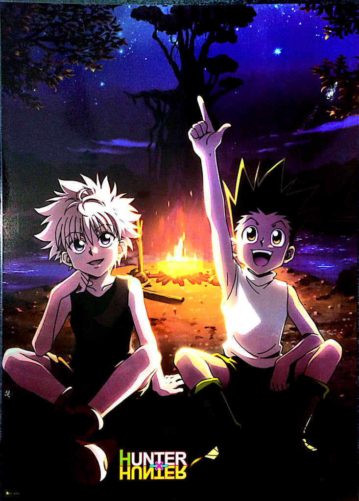 "A2 Laminated Poster 25""X16"" Hunter x Hunter / Gon Freecss, Killua Zaoldyeck"