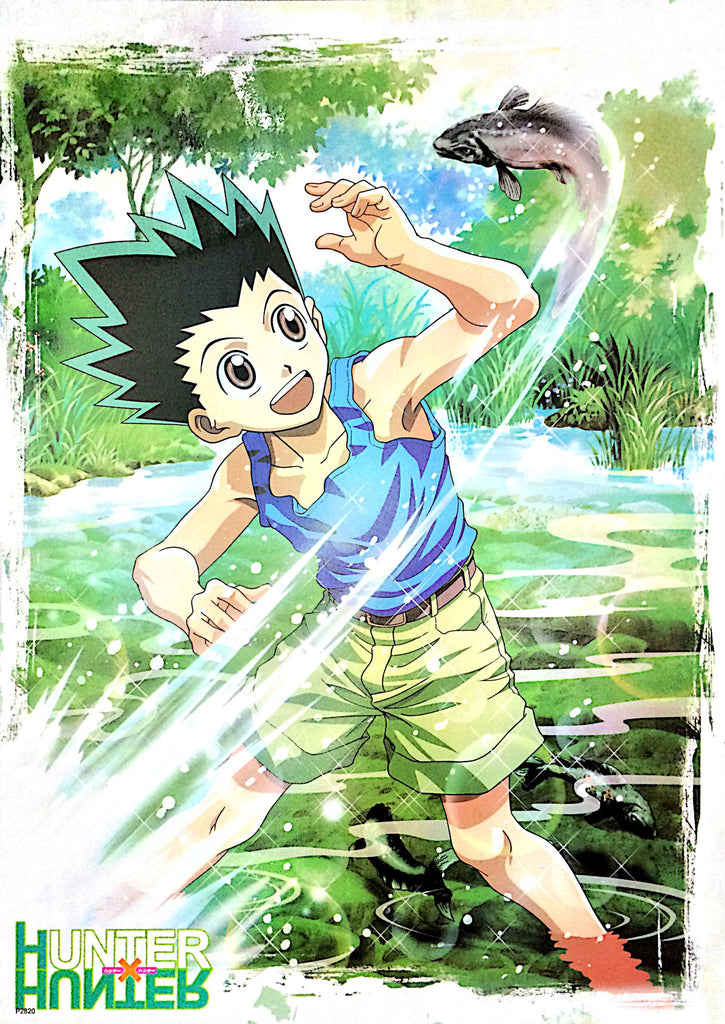 "A2 Laminated Poster 25""X16"" Hunter x Hunter / Gon Freecss"