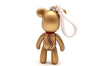 Lucky Cat (Gold) 3 inch Keyring