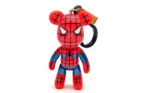 Spiderman 3 inch keyring