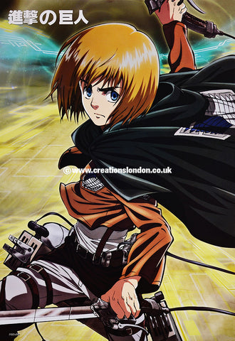 "A3 Size Posters 16.5""x11.5"" Attack on Titan / Armin Arlert"