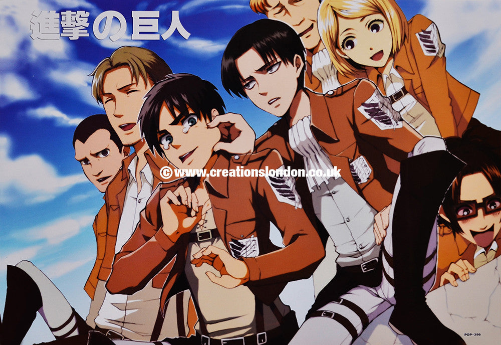 "A3 Size Posters 16.5""x11.5"" Attack on Titan / Survey Corps"