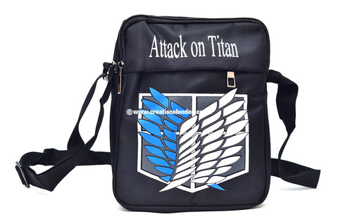 Attack on Titan Survey Corps Canvas Messenger Shoulder Bag