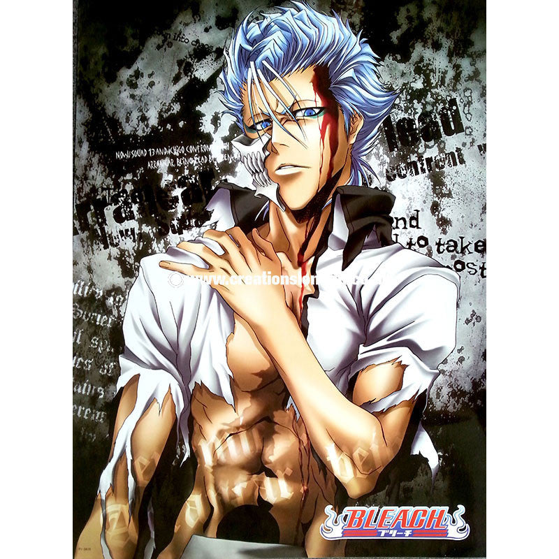 "A2 Laminated Poster 25""X16"" Bleach / Grimmjow Jaggerjack"