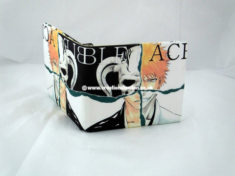 Bleach PU Leather Wallet / Ichigo & Hallow Ichigo