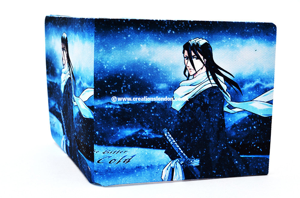 Bleach PU Leather Wallet / Kuchiki Byakuya