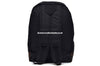 Dangan Ronpa High School Logo Black / Beige Canvas Backpack Bag
