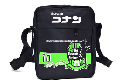 Detective Conan Logo Canvas Messenger Shoulder Bag