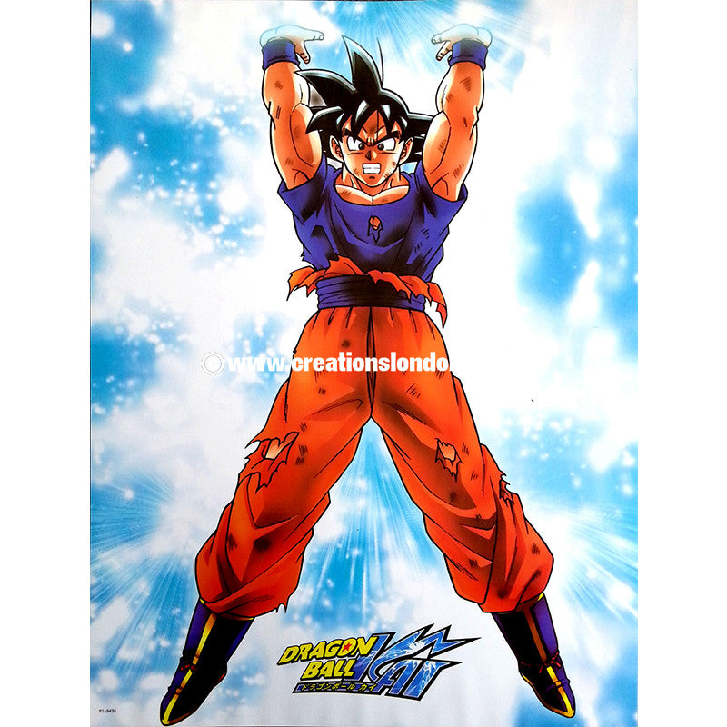"A2 Laminated Poster 25""X16"" Dragon Ball / Goku"