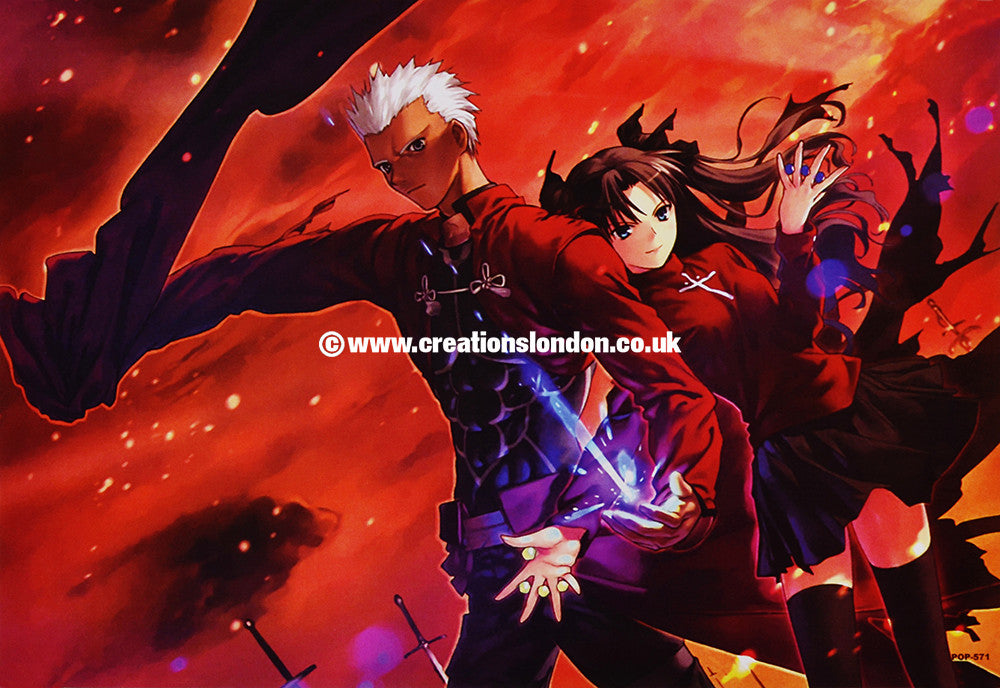 "A3 Size Posters 16.5""x11.5"" Fate Stay Night / Archer, Rin"