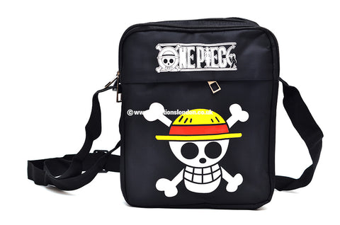 One Piece Straw Hat Pirates Jolly Rogers Canvas Messenger Shoulder Bag