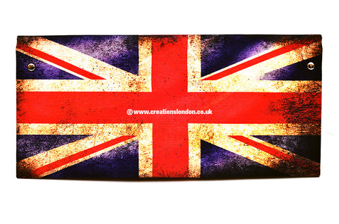 Union Jack PU Leather Long Wallet