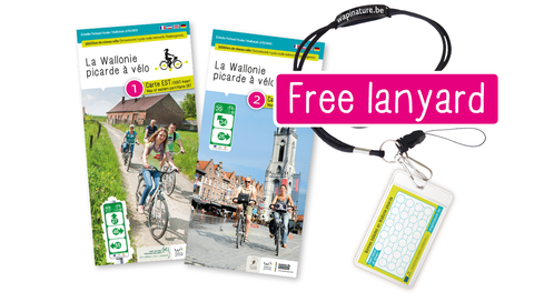 Wapi by bike – EAST & WEST maps and lanyard