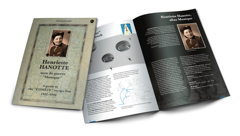Historical booklet - Henriette Hanotte, guide to the 'COMÈTE' escape line
