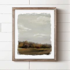 Moody Fall Landscape from the House Fenway Autumn collection 2021
