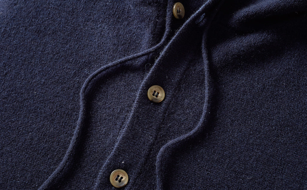 Pure Cashmere Hoodie Made in Italy