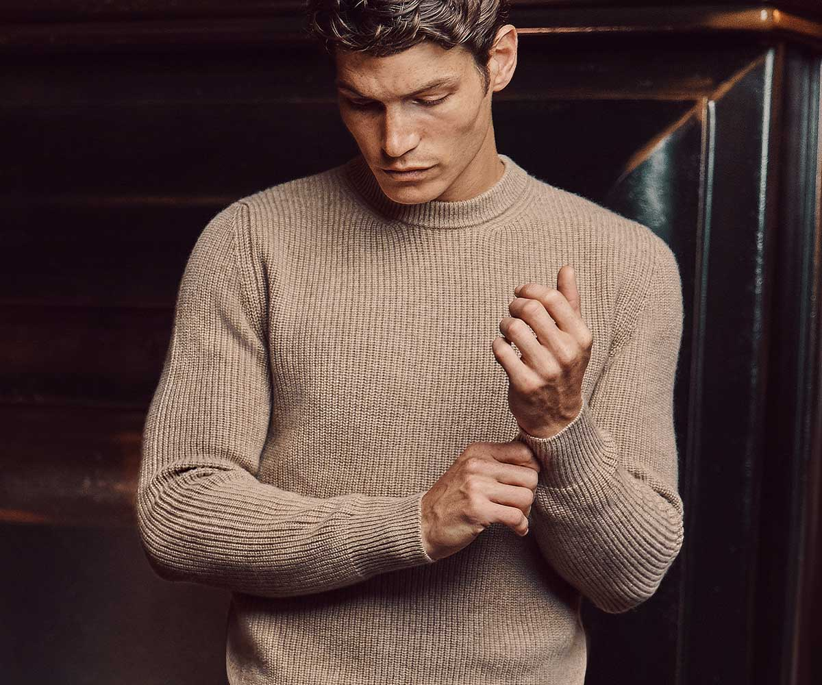 Luca Faloni Cashmere Chunky Knit Made in Italy