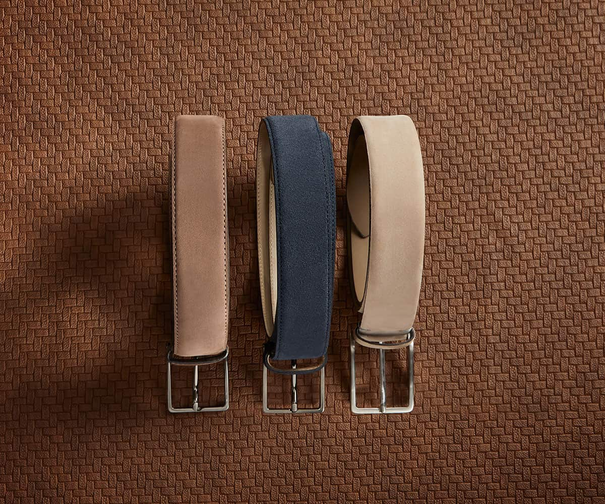 Luca Faloni Leather Belts Collection Made in Italy