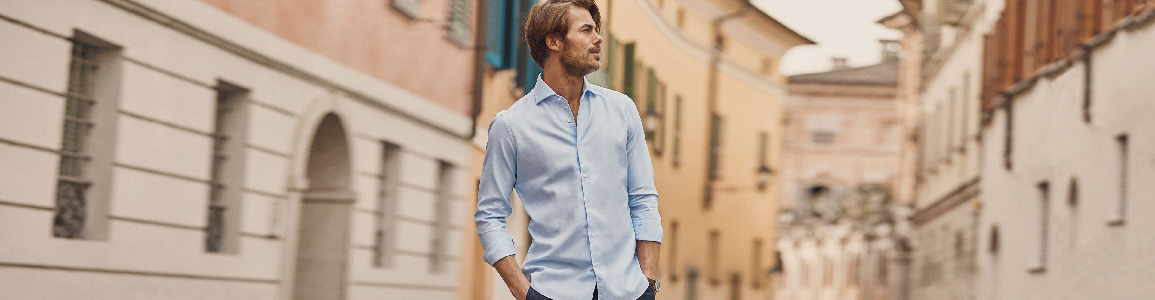 Luca Faloni Classic Oxford Cotton Shirt Made in Italy