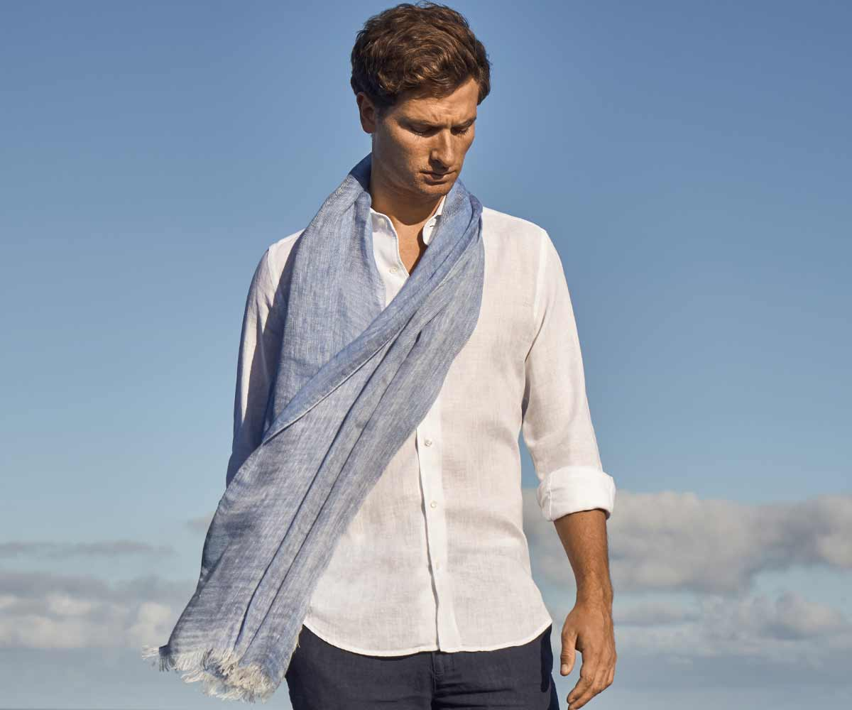 Luca Faloni Linen Accessories Collection Made in Italy