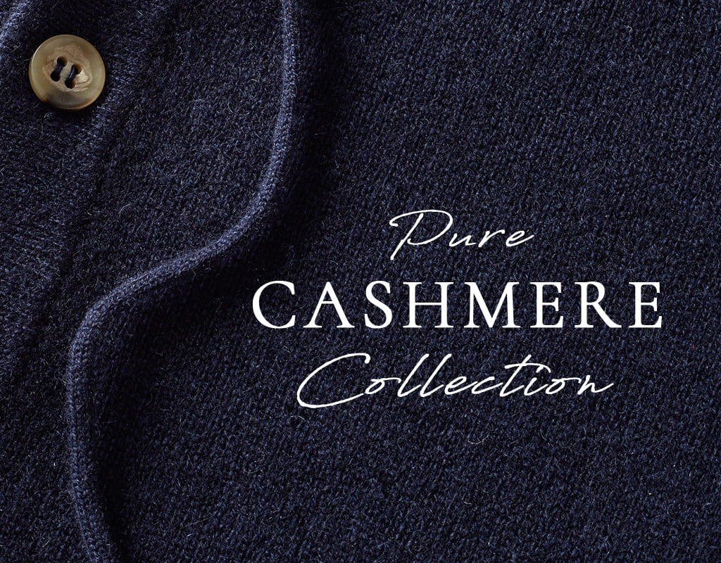 Pure Cashmere Knitwear Made in Italy