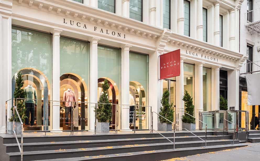 Luca Faloni New York Store Made in Italy