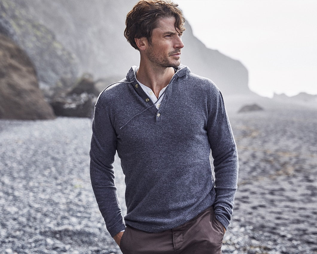 Luca Faloni Made in Italy Pure Cashmere Hoodie