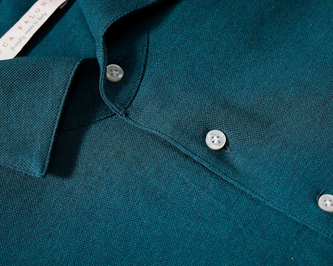 Made in Italy Pique Polo Shirt