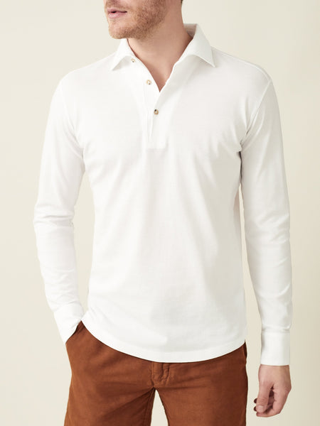 White Brera Polo Shirt