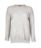 Drop Shoulder Jumper in Grey