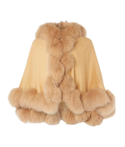 The Cartwright Cape in Camel