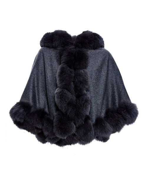 The Cartwright Cape in Black