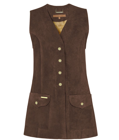 Dawn Gilet in Chocolate