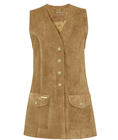 Dawn Gilet in Butterscotch