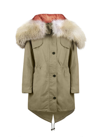 The Limited Edition 'Eagle' Parka with Fox Fur