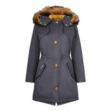 The Fairweather Parka in Blue