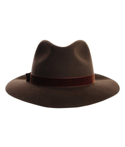 TROY FEDORA IN CHOCOLATE