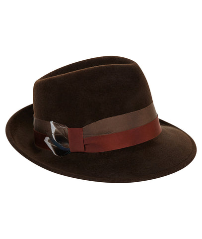 TROY Trilby in Chocolate