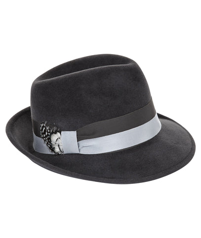 TROY Trilby in Grey