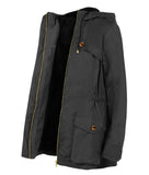 Wax Parka in Black