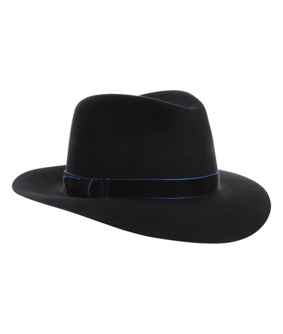 Accessories - TROY Fedora In Black