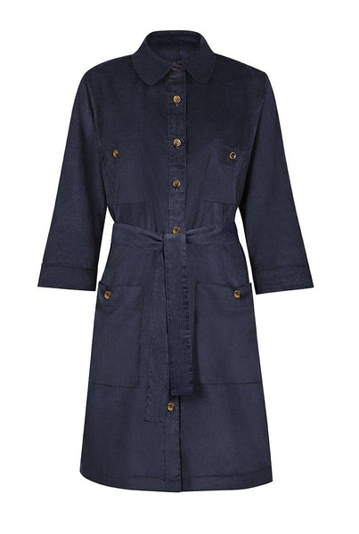 Dress - Utility Dress In Navy
