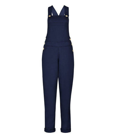 Dungarees - TROY Long Dungarees In Navy