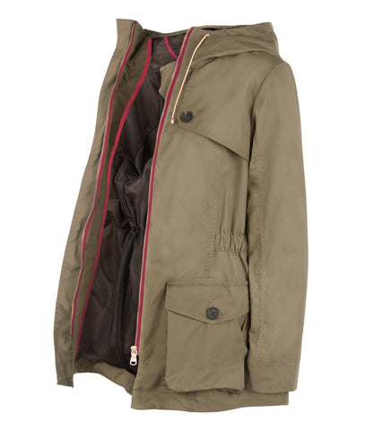 Jacket - Pop Wax Parka In Khaki Green