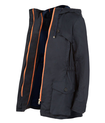 Jacket - Pop Wax Parka In Navy