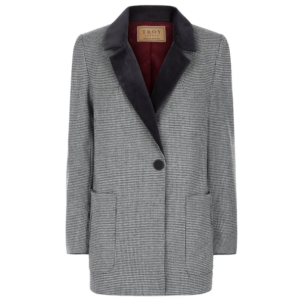 Jacket - Puppytooth Blazer