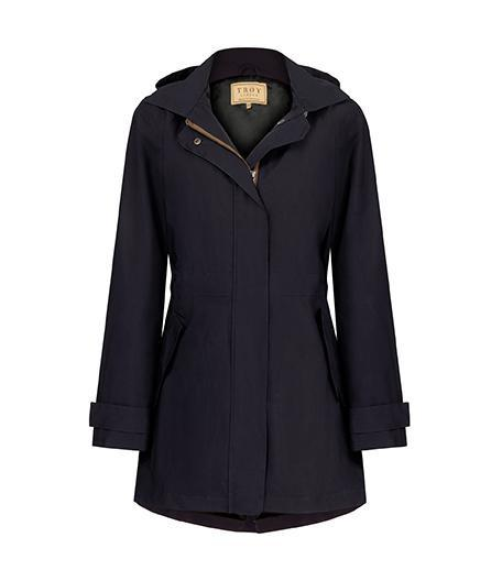 Jacket - Shell Parka In Navy