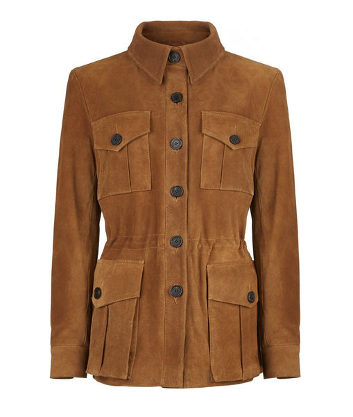 Jacket - Suede Tracker Jacket